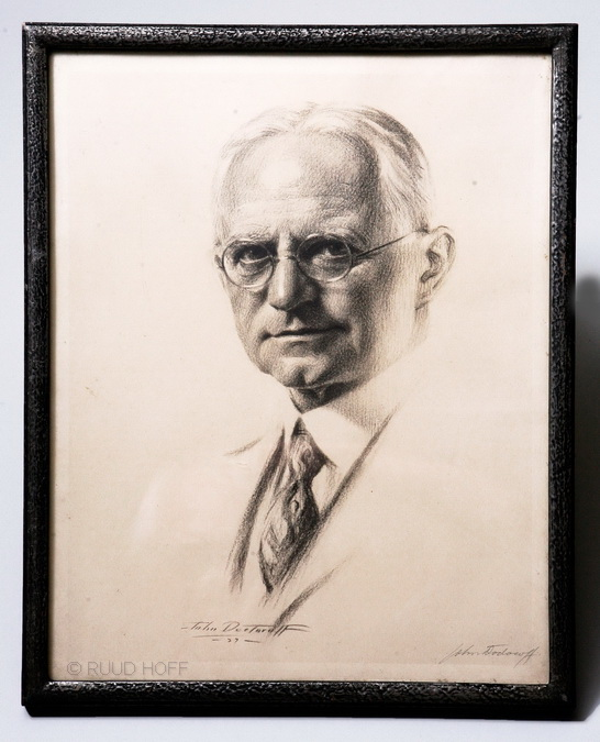 George Eastman signed by artist