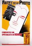 French Kodak add 1933