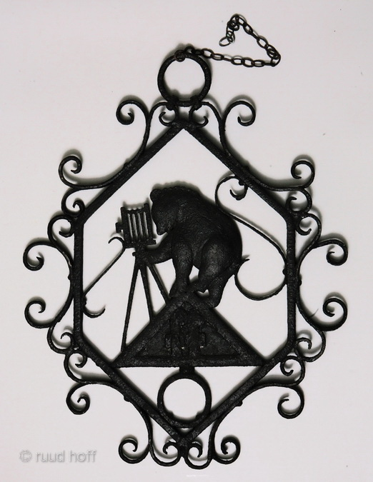 Cast Iron sign