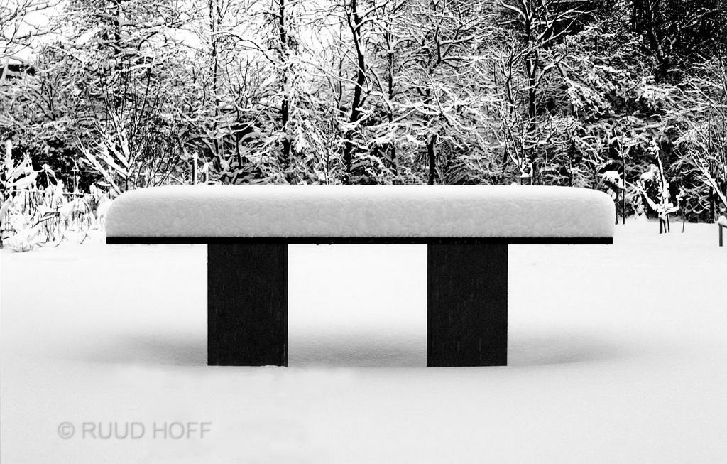 tafel sneeuw